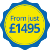 From Just £1495