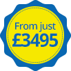 From just £3495