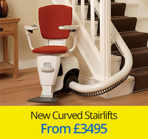 New Curved Stairlifts from £3495