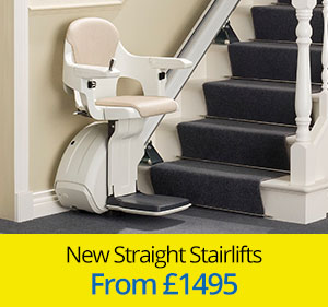 New Straight Stairlifts from £1495